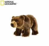National Geographics Grizzly Bär Stofftiere Plüsch Spielzeug (mittel, Natur) - 1