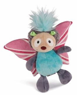 NICI 42806 Jolly Mäh 32 Kuscheltier Schmetterling Speedy-Amore, 25 cm, bunt - 1