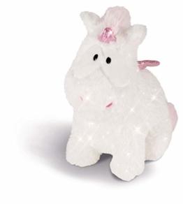 NICI 43254 Kuscheltier Einhorn-Baby Theofina, 22 cm, weiß/rosa - 1