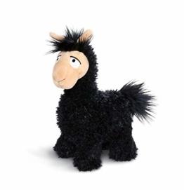 NICI 43574 Kuscheltier Lama Lorenzo, 32 cm, schwarz - 1