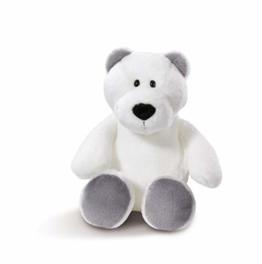 Nici 43625 Kuscheltier Eisbär, 20 cm, weiß - 1