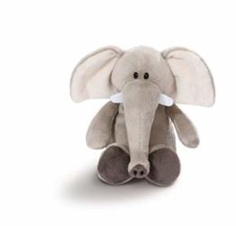 NICI 43626 Kuscheltier Elefant, 20 cm, grau - 1