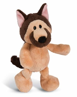 NICI 45103 Kuscheltier Schäferhund 20cm, Plüschtier für Mädchen, Jungen und alle Hundeliebhaber, braun - 1