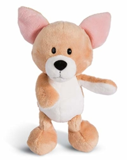 NICI 45104 Kuscheltier Chihuahua 20cm, Plüschtier für Mädchen, Jungen und alle Hundeliebhaber, beige - 1