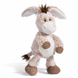NICI Kuscheltier Esel 35 cm – Esel Plüschtier für Mädchen, Jungen & Babys – Flauschiger Stofftier Esel zum Kuscheln, Spielen und Schlafen – Gemütliches Schmusetier – ab 12 Monaten – 44935 - 1