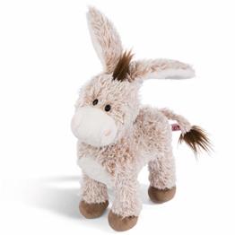 NICI Kuscheltier Esel stehend 30 cm – Esel Plüschtier für Mädchen, Jungen & Babys – Flauschiger Stofftier Esel zum Kuscheln, Spielen und Schlafen – Gemütliches Schmusetier – ab 12 Monaten – 44937 - 1