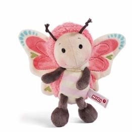 NICI Kuscheltier Schmetterling 25 cm – Schmetterling Plüschtier für Mädchen, Jungen & Babys – Flauschiger Stofftier Schmetterling zum Kuscheln, Spielen & Schlafen – Schmusetier – ab 0 Monaten – 44933 - 1