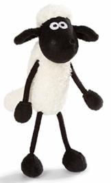 NICI Kuscheltier Shaun das Schaf 35 cm – Schaf Plüschtier für Mädchen, Jungen & Babys – Flauschiges Stofftier Schaf zum Kuscheln, Spielen und Schlafen – Gemütliches Schmusetier für jedes Alter – 45846 - 1