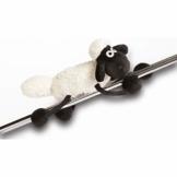 NICI Magnettier Shaun das Schaf 14,5 cm – MagNICI Magnettiere Shaun das Schaf – Stofftiere & Kuscheltiere mit Magnet – Magnet-Plüschtier Shaun für Kühlschrank, Tafel, Metall – Schaf Magnettier – 33100 - 1