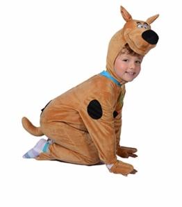 O11715-2-3 braun-schwarz Baby Kleinkinder Kinder Scooby DOO Hunde Kostüm Gr.2-3 Jahre - 1