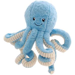 Oktopus Plüschtiere Logo