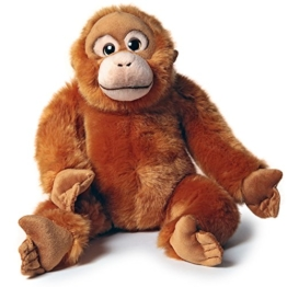 Pamer-Toys Plüschtiere, Stofftiere, Kuscheltiere - Orang-Utan, rotbraun - 1