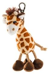 Schaffer 0238 Giraffe Anhänger, unisex-child, Braun, ca. 13 cm - 1