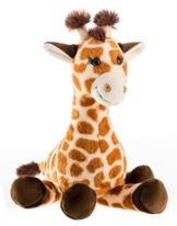 Schaffer 5562 Plüsch-Giraffe Bahati, Braun, M - 28 cm - 1