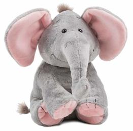 Schaffer Knuddel mich! 5193 Sugarbaby rosé Plüsch-Elefant, Größe L 30 cm - 1