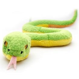 Schlange MAMBOO Plüschschlange Python Boa Mamba grün 60 cm Plüschtier von Kuscheltiere.biz - 1