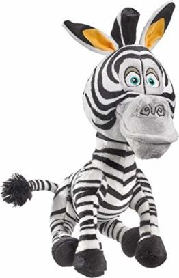Schmidt Spiele 42708 DreamWorks Madagascar, Marty, Plüschfigur Zebra, 25 cm, bunt - 1