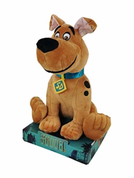 SCOOB! Scooby DOO - Plüschtiere Mit Display des Neuen Films Superweiche Qualität - 28 Weitläufig. (Junger Scooby 28cm) - 1