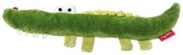 sigikid, Mädchen und Jungen, Greifling und Rassel Krokodil, Grün, 41178 - 1