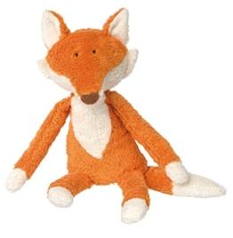 Sigikid Sigikid38781 Mädchen und Jungen, Stofftier Fuchs, Babyspielzeug, Kuscheltier, empfohlen ab 0 Monaten, orange, 38781 - 1