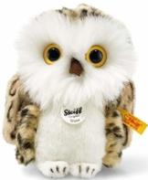 Steiff 045608 Wittie 12 Eule, GRAU - 1