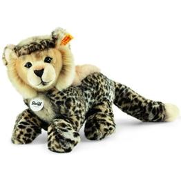 Steiff 064647 - Cheetah Baby Schlenker Gepard, Plüschtier, 26 cm, beige/braun - 1
