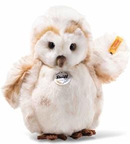 Steiff 45165 Owly 23 Creme gefleckt Eule - 1