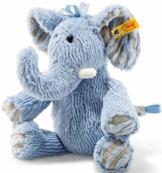 Steiff 64869 Elefant, blau, 30 cm - 1
