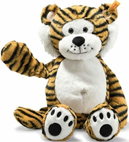 Steiff 66146 Soft Cuddly Friends Toni Tiger, gestreift - 1