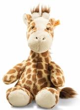 Steiff 68157 Soft Cuddly Friends Girta Giraffe, Hellbraun gefleckt - 1