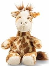 Steiff 68164 Soft Cuddly Friends Girta Giraffe, Hellbraun gefleckt - 1