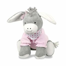 Sterntaler 3021838 Spieltier Emmi Girl, Alter: Für Babys ab der Geburt, 37 cm, Pink/Grau - 1