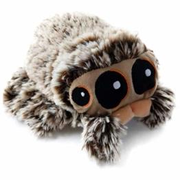 Stofftier Spinne, 16cm / 20cm Kinder Spider Plüschtier Kuscheltier für Halloween Dekoration - 1