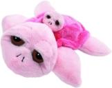 Suki 10027 Stofftier Schildkröte Coral Mama mit Baby, 30 cm, rosa - 1
