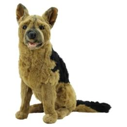 Sweety Toys 0784 Plüschhund Schäferhund XXL Kuscheltier 60 cm - 1