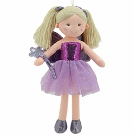 Sweety Toys 11834 Stoffpuppe Fee Plüschtier Prinzessin 60 cm lila - 1