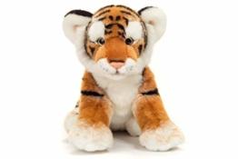 Teddy Hermann 90448 Tiger braun 32 cm, Kuscheltier, Plüschtier - 1