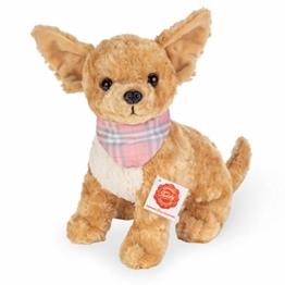 Teddy Hermann 91948 Hund Chihuahua 27 cm, Kuscheltier, Plüschtier - 1