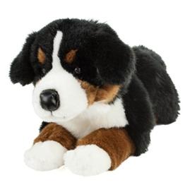 Teddys Rothenburg Kuscheltier Berner Sennenhund 45 cm liegend braun/schwarz/weiß Plüschbernersennenhund - 1