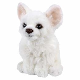 Teddys Rothenburg Kuscheltier Chihuahua 17 cm sitzend weiß Plüschchihuahua Plüschhund - 1