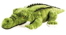 Teddys Rothenburg Kuscheltier Krokodil 34 cm liegend grün Plüschkrokodil Plüschalligator - 1