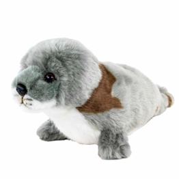 Teddys Rothenburg Kuscheltier Seehund gefleckt 24 cm Plüschtier Stofftier Schmusetier Plüsch Spielzeug - 1