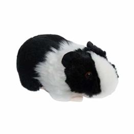 Teopet Meerschweinchen schwarz weiß Kuscheltier Plüschtier - 1