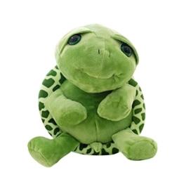 TOYMYTOY Schildkröte Plüschtier Kinder Baby Schmusetier Puppe 30cm - 1