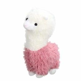 Toyvian 1 Stück Plüsch Alpaka Spielzeug Kuscheltiere Spielzeug Schaf für Kinder Baby, 28x10 cm - 1