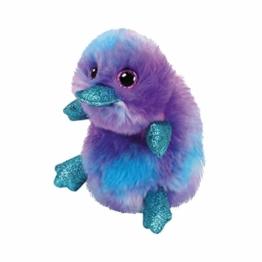 TY 36275 Beanie Boos 15 cm Plüschtier, Lila,blau,türkis - 1