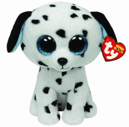 TY 7136042 - Fetch Hund Dalmatiner Beanie Boos, 15 cm - 1