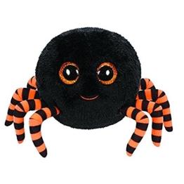 TY Crawly - Halloween Spinne schwarz-orange - 1