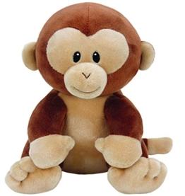 TY T32154 Monkey Baby Plüsch-Banana AFFE, 17 cm, braun - 1