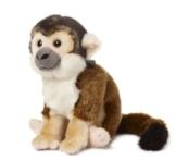 Unbekannt 15191020 Plüsch WWF00572, WWF Totenkopfäffchen (20cm), realistisch, Super weiches, lebensecht gestaltetes Plüschtier zum Knuddeln und Liebhaben, Handwäsche möglich - 1